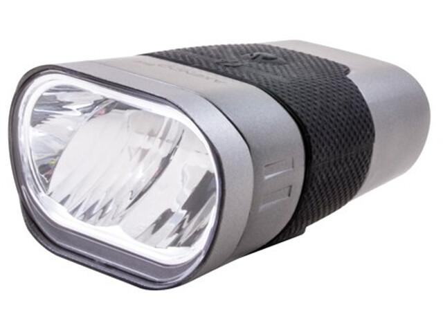 spanninga Axendo 60 Aufladbares Frontlicht silver